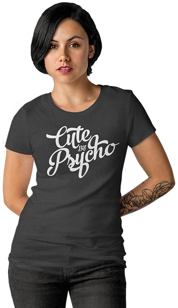 Home Page Lady - Sute But Psycho